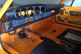 Armaturenbrett im Porsche 911 Look für fünf Instrumente für Porsche 914 - GFK