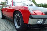 Frontspoiler mit Flaps für Porsche 914 - GFK