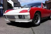 Front bumper for Porsche 914 - made from fiberglass.