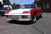 Frontspoiler mit Flaps für Porsche 914-6 (unlackiert) - GFK