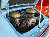 K&N Luftfilterabdeckungen montiert auf einem Porsche 911 Motor