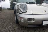 Bremsluftschlitze montiert in einem Porsche 964 C2/C4