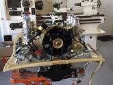 Honey coloured engine shroud for Porsche 914 engine