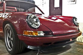 Singer style front spoiler mounted on a Porsche 964