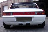 Rear valance (long) for Porsche 914 with custom made exhaust cut out - made from fiberglass.