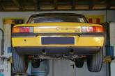Rear valance (long) for Porsche 914-6 with custom made exhaust cut out - made from fiberglass.