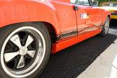 Rocker panels for Porsche 914 GT and 916 - made from fiberglass.