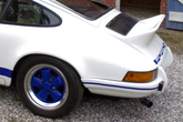 Duck tail 911 mounted on a 2,7 RS