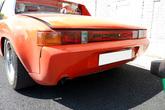 Heckstange für Porsche 916 - GFK