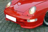 Front spoiler 993 RS mounted on a Porsche 993 Carrera.