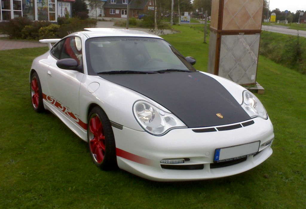 Porsche 996 Carrera MK2 im GT3 RS Look