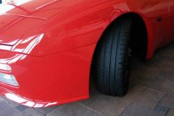 Front spoiler lip for 944 S2 / Turbo