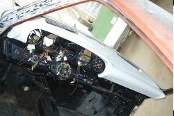 Armaturenbrett 911 (69-86) - ohne Mitteldüse