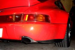 Rear bumper corner for 965 - right