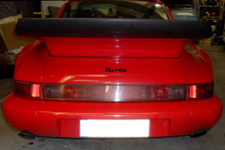Rear middle lining for 964 C2/C4 and 3,3L Turbo