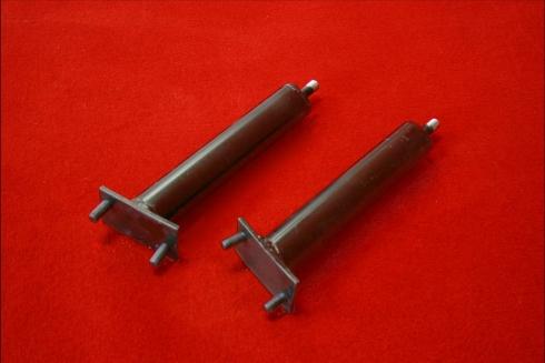 Shortened front impact tubes