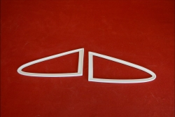 Rear quarter window frames for 911 / 964 / 993