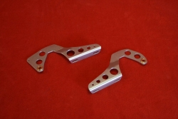 Hinges for rear engine lid 911 Singer Style - rigid