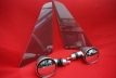 """Mirror in """"Singer Style"""" for triangular windows (included)"""