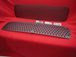 Air intake grille / engine grille for duc tail - Aluminum