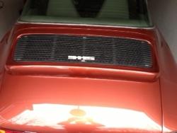 Rear spoiler dummy for 911 - 964 Look