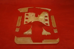 Engine shroud set (carb) for 911 / 911 S / 3,0 Carrera...