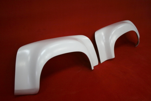 Rear fender flares for 914 - wide body